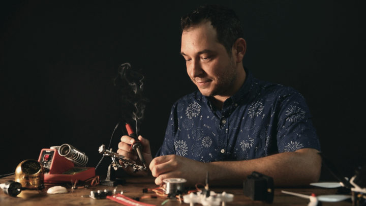 New Animator, James Curtis